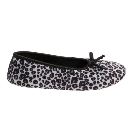 DF by Dearfoams Women's Ballerina Slippers (Skylanders Slippers)