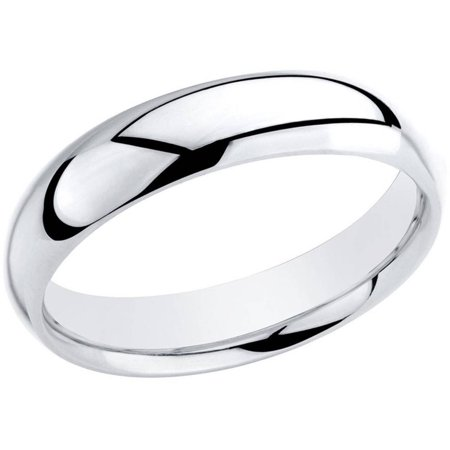 Sterling Silver 5mm Polished Plain SL Band