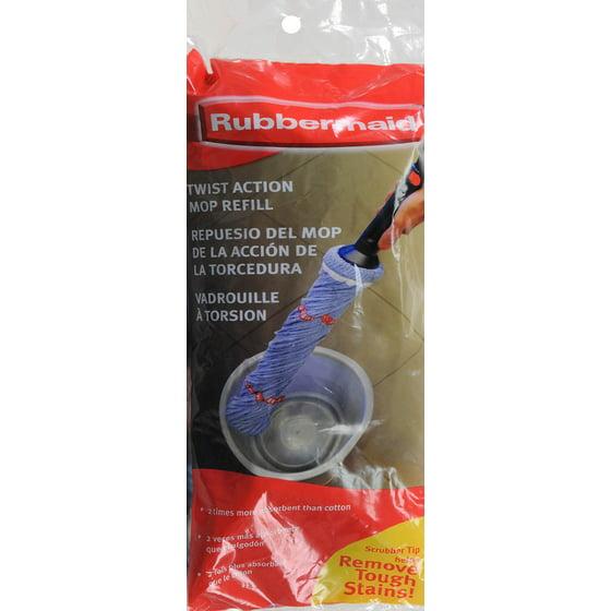 Rubbermaid Twist Mop Refill 1ct Walmart