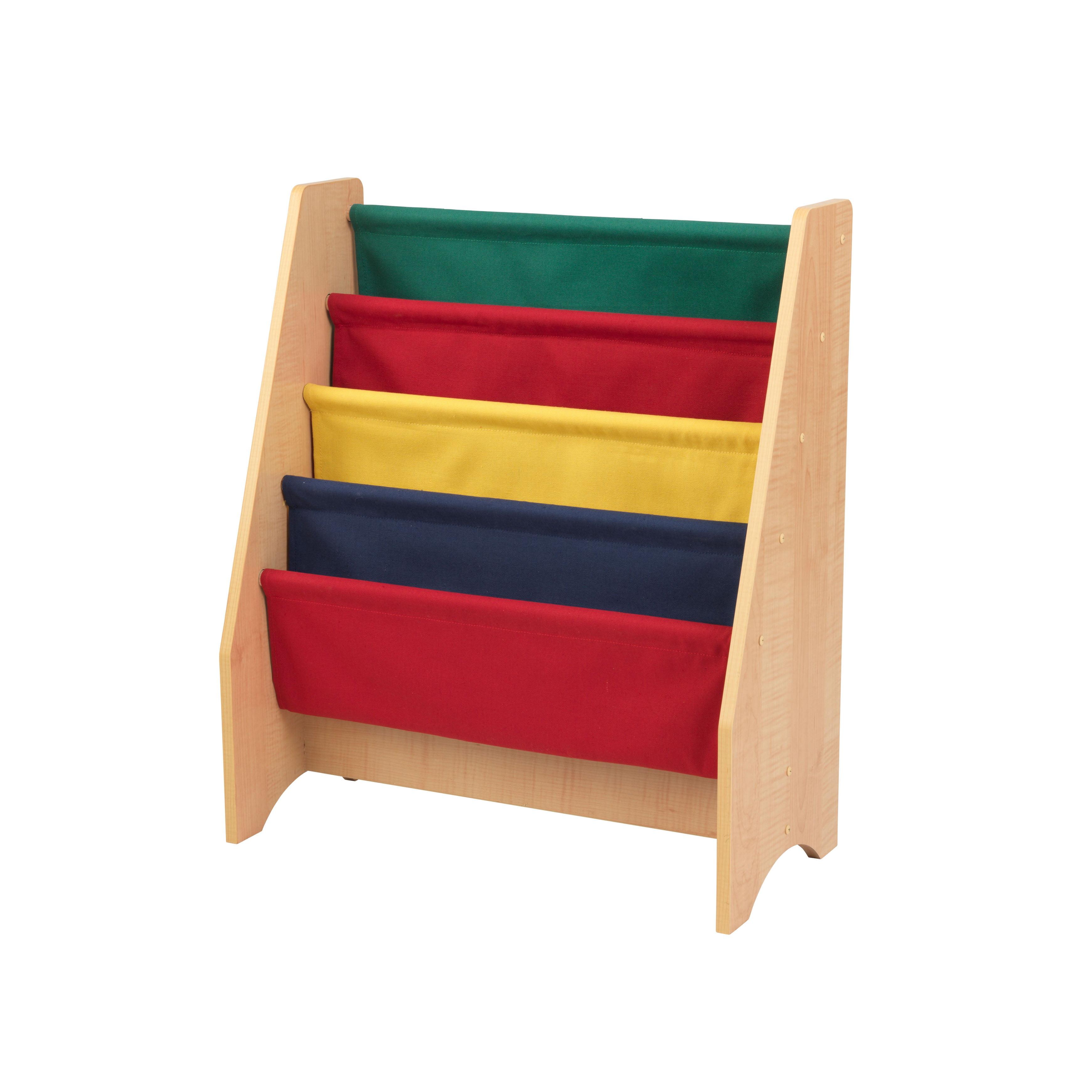 kidkraft sling bookshelf natural walmart