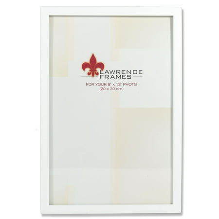 8x12 White Wood Picture Frame - Gallery Collection - Walmart.com
