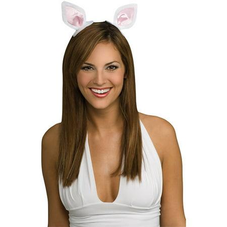 Clip-On Pig Ears Adult Halloween Accessory