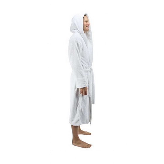 6511bb73fb Comfy Robes - Comfy Robes Men s Deluxe 20 oz. Turkish Cotton Hooded ...