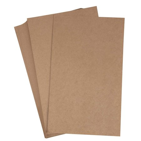 Brown Kraft Paper - 96-Pack Legal Sized Stationery Paper, 120GSM, Perfect for Arts, Crafts, and Office Use, 8.5 x 14
