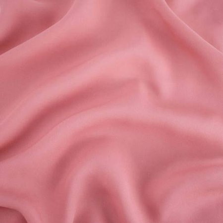- Pink Silk Georgette, Fabric By the Yard