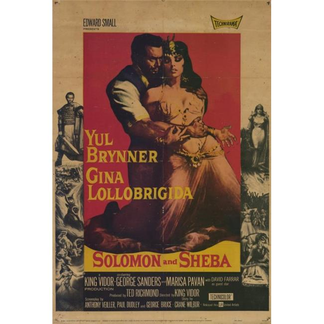 Posterazzi MOVEF8360 Solomon & Sheba Movie Poster - 27 x 40 in. - image 1 of 1