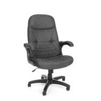 OFM MobileArm Model 550 Fabric High-Back Executive Conference Chair with Flip-up Arms, Multiple Colors