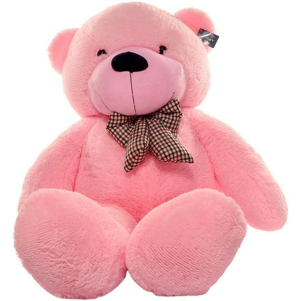 Baby Net For Stuffed Animals, Joyfay 63 Giant Teddy Bear Pink 5 3ft Birthday Christmas Valentine Gift Walmart Com Walmart Com