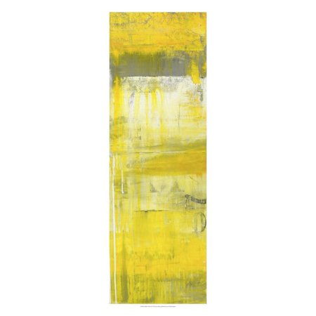 Mellow Yellow II Print Wall Art By Erin Ashley ()