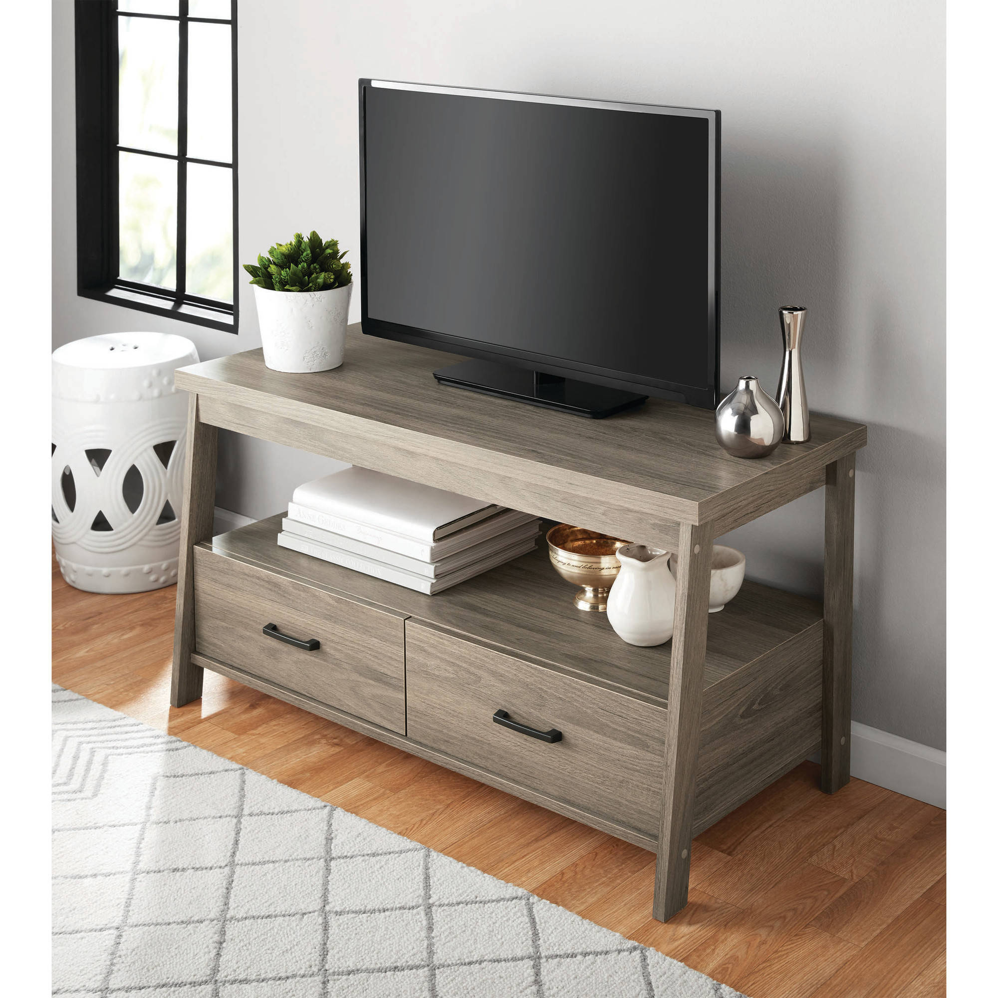 Mainstays Logan TV Stand for TVs up to 47\ by Sauder Woodworking