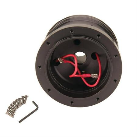 Evolution Gt Steering Wheel (GT Performance 20-6509 GT9 Ford Steering Wheel Adapter Hub, Black Anodized )