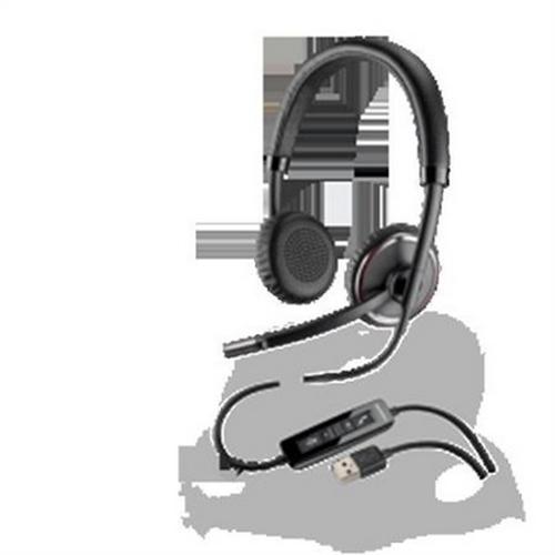 Refurbished Plantronics Blackwire 500 C520 USB Binaural Headphone