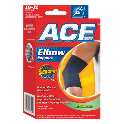 Ace Elasto-Preene Elbow Support Brace, # 207523, Large/X-Tra Large - 1 Ea