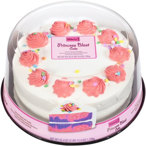 The Bakery At Walmart Princess Blast Cake 454 Oz