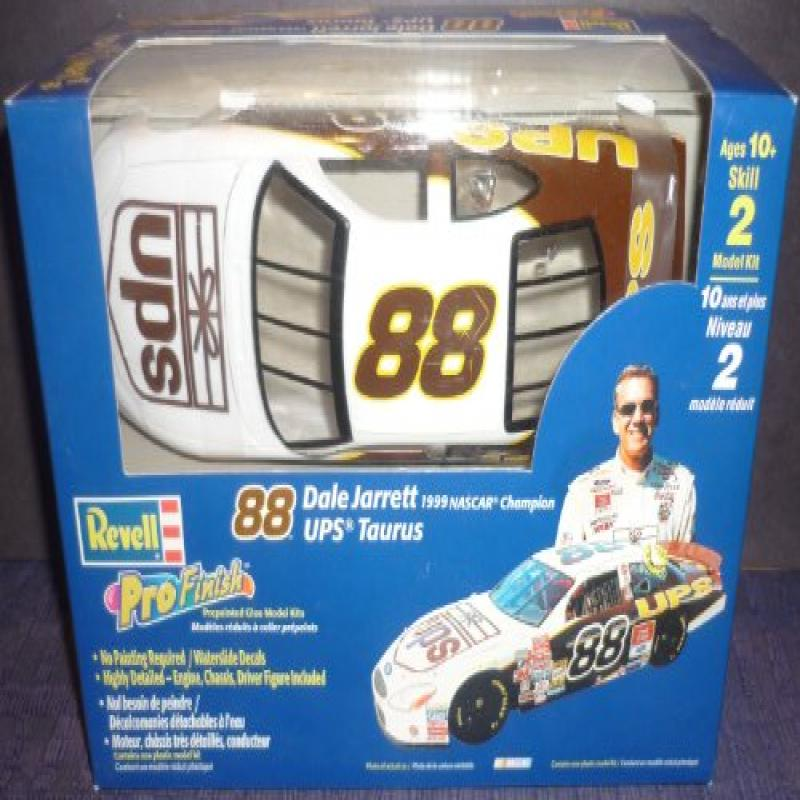 #1664 Revell Pro Finish #88 Dale Jarrett UPS 1 24 Scale Plastic Model Kit by