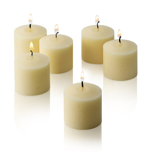 Light In the Dark French Vanilla Scented Votive Candles (Set of 36)