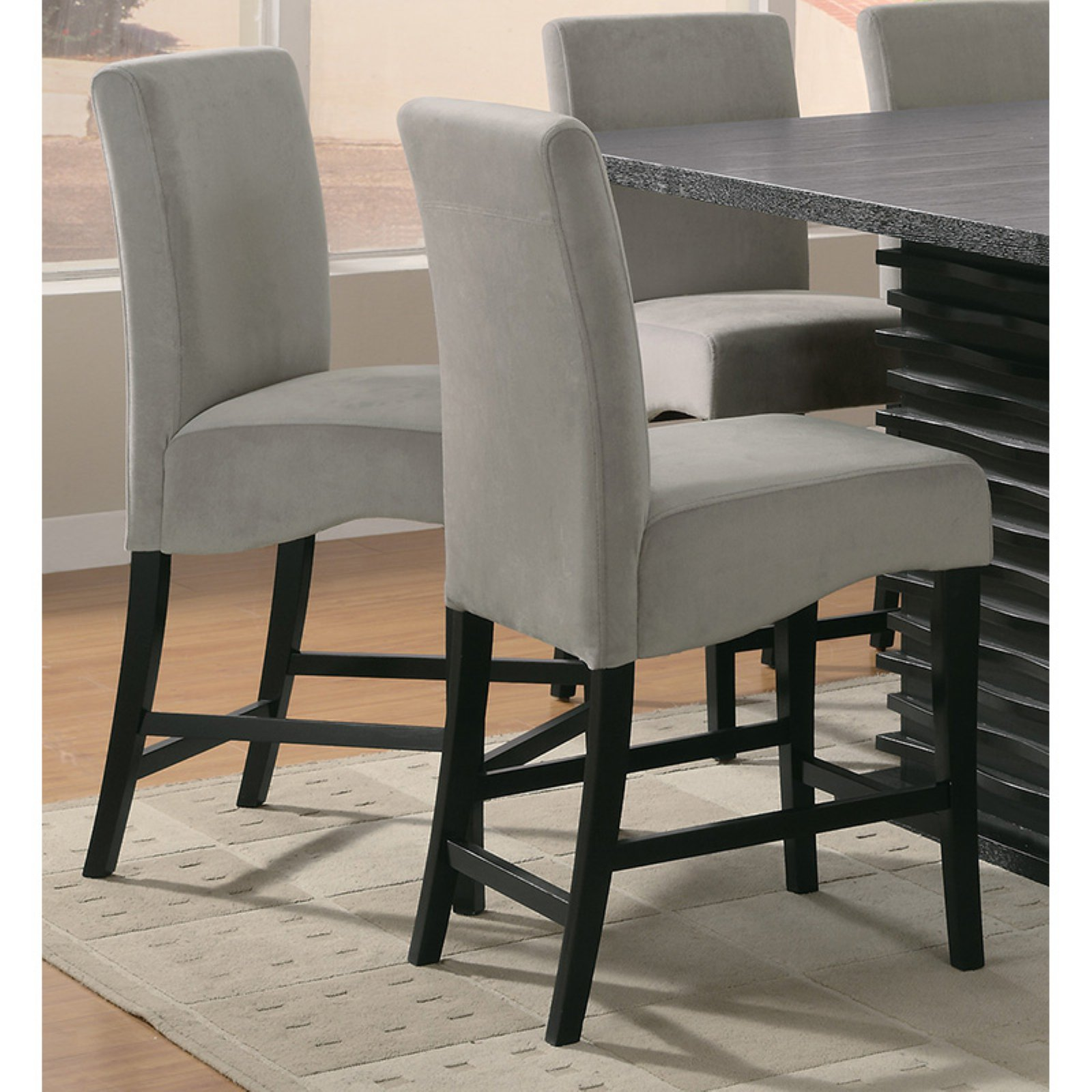 Coaster Furniture Stanton 42 in. Counter Height Chair - Set of 2