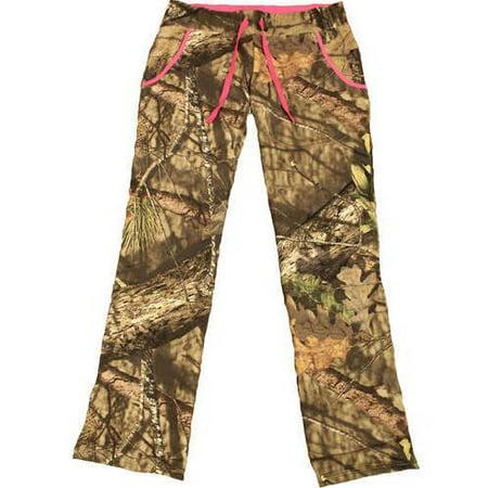 Mossy Oak Women's Fleece Camo Pants, MO Country