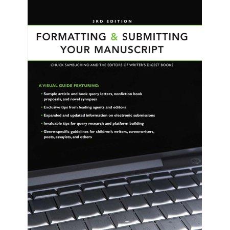 Formatting submitting your manuscript walmart spiritdancerdesigns Gallery
