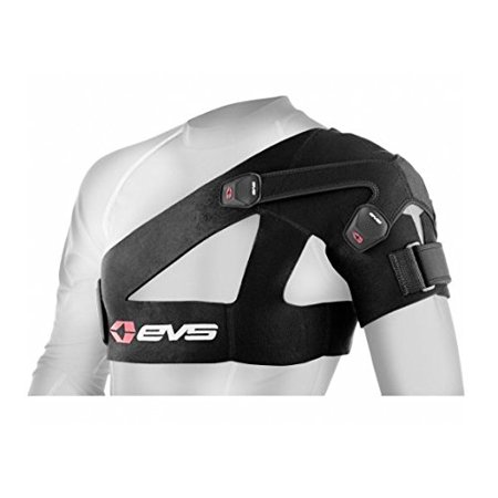 SB03 Shoulder Brace (Large), Left Support Fibromyalgia Oz Black Training Back Neoprene Best Relief Small Spica Adjustable 2 3 Sprains compression Knee Wrap Shape.., By EVS Sports Ship from (Best Knee Wheelchairs)