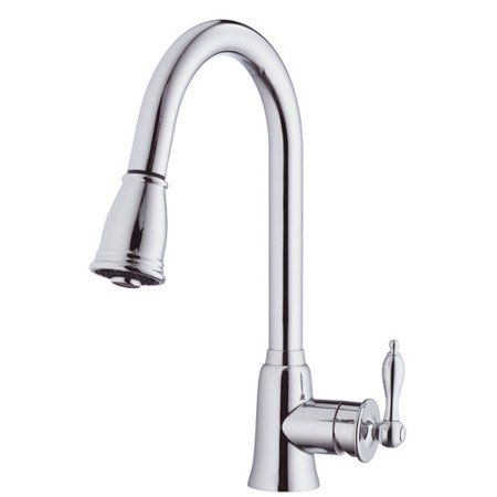Danze Prince Pull Down Single Handle Kitchen Faucet