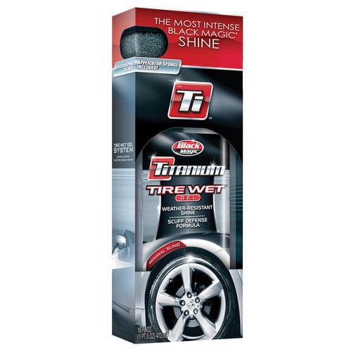 Black Magic Titanium Tire Wet Gel