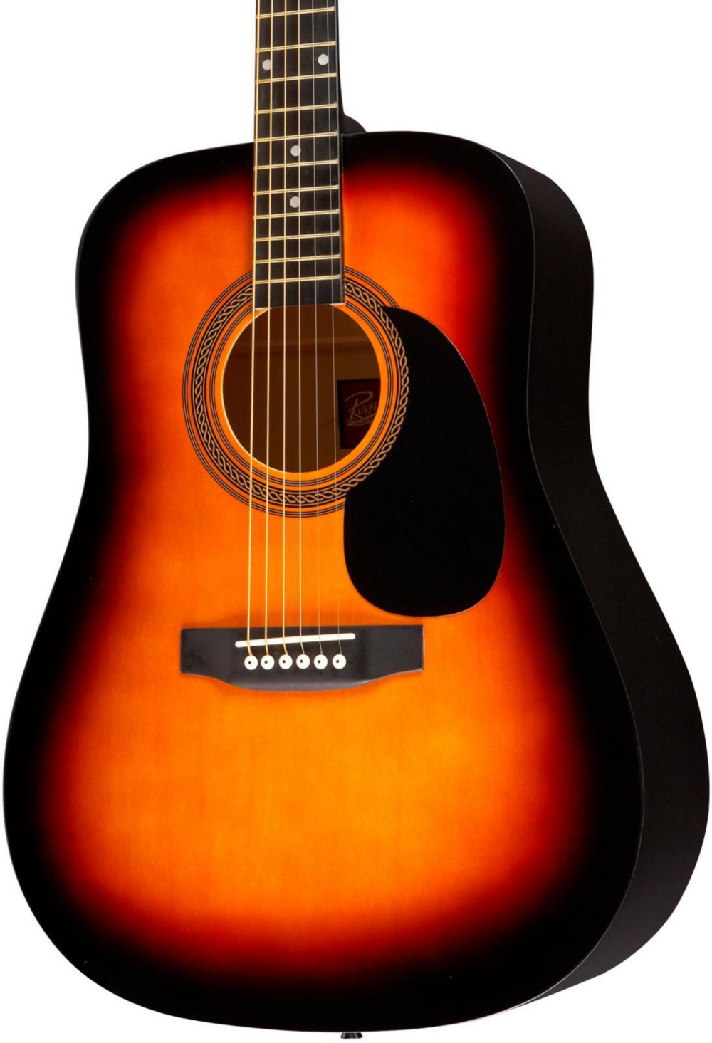 Rogue RA-090 Dreadnought Acoustic Guitar Sunburst by Rogue