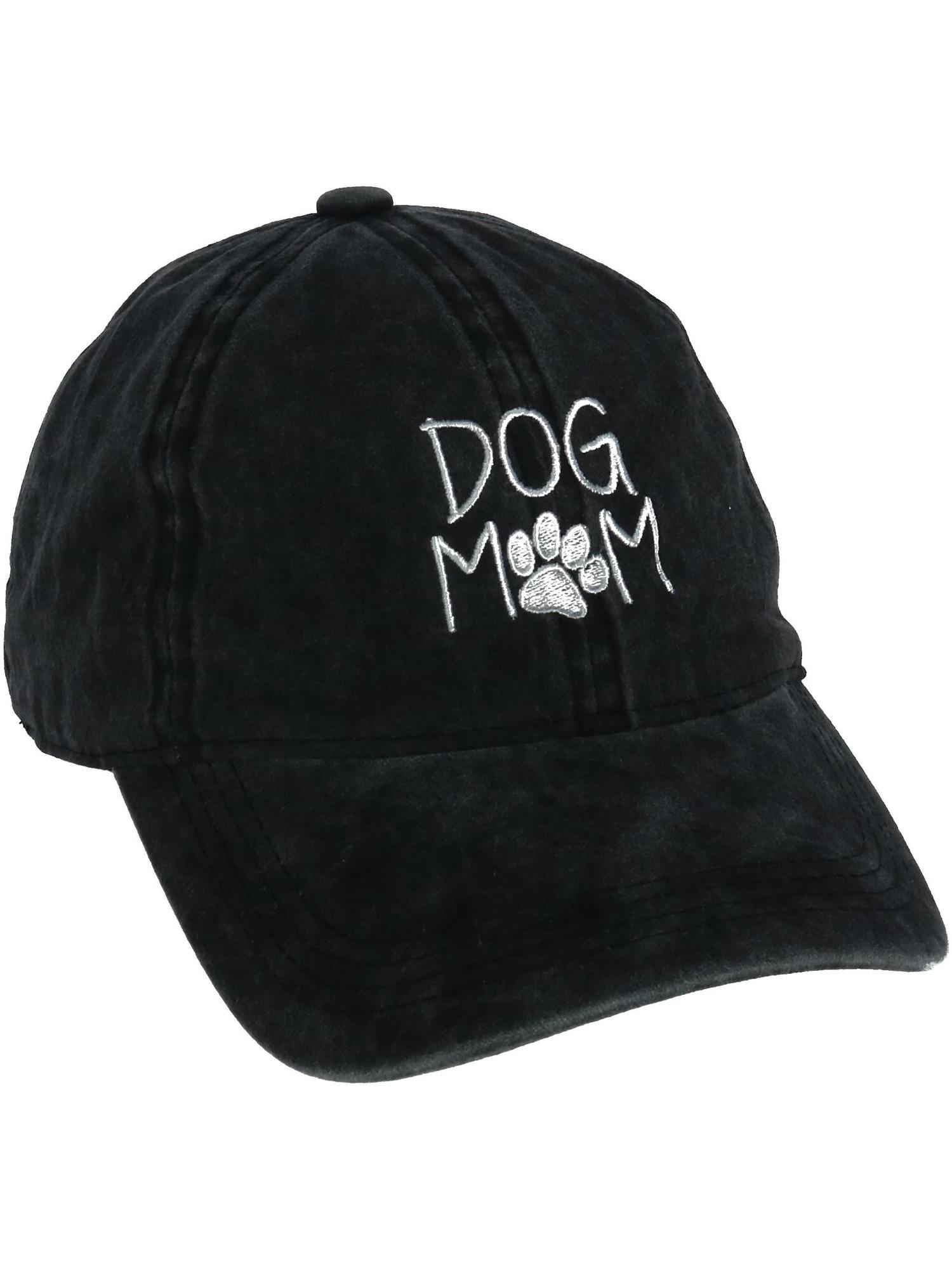 f21ecaea2 Women's Dog Mom Embroidered Baseball Cap