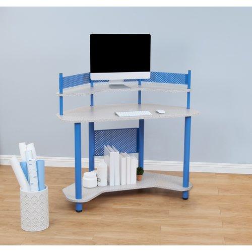 Calico Designs Study Corner Desk Walmart Com