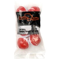 """Outdoor Angler 1 1/2"""" Round Snap-On Float, Red/White, 5-Pack"""