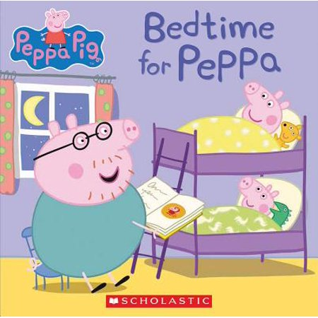 Bedtime for Peppa (Peppa Pig) (Paperback)](Children's Counting Books)