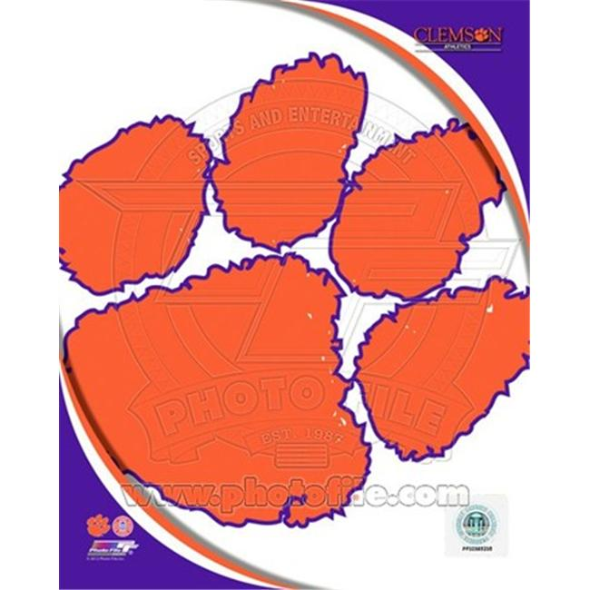 Photofile PFSAAOJ21601 Clemson University Tigers Team Logo Poster by Unknown -8. 00 x 10. 00