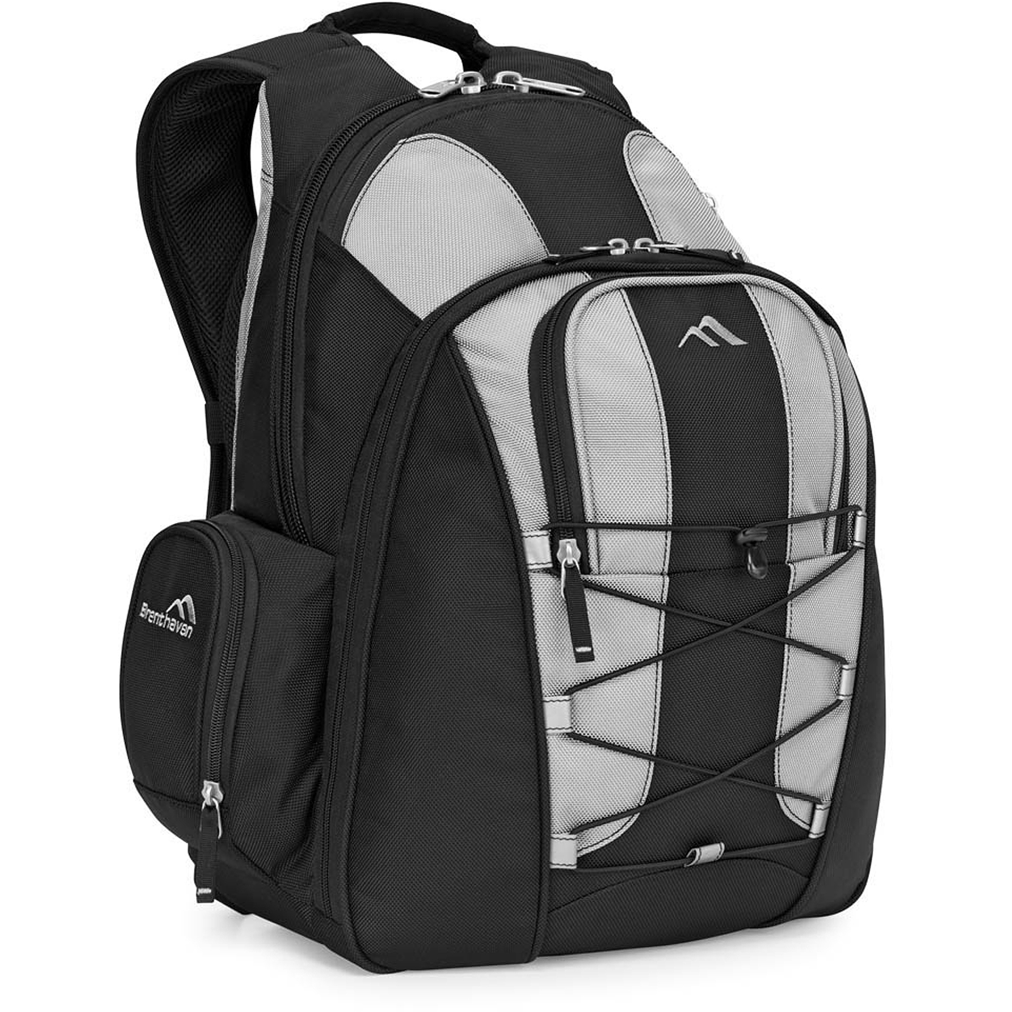 Brenthaven 2071 Expandable Trek Backpack, Titanium