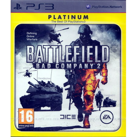 Battlefield Bad Company 2 Platinum for PS3