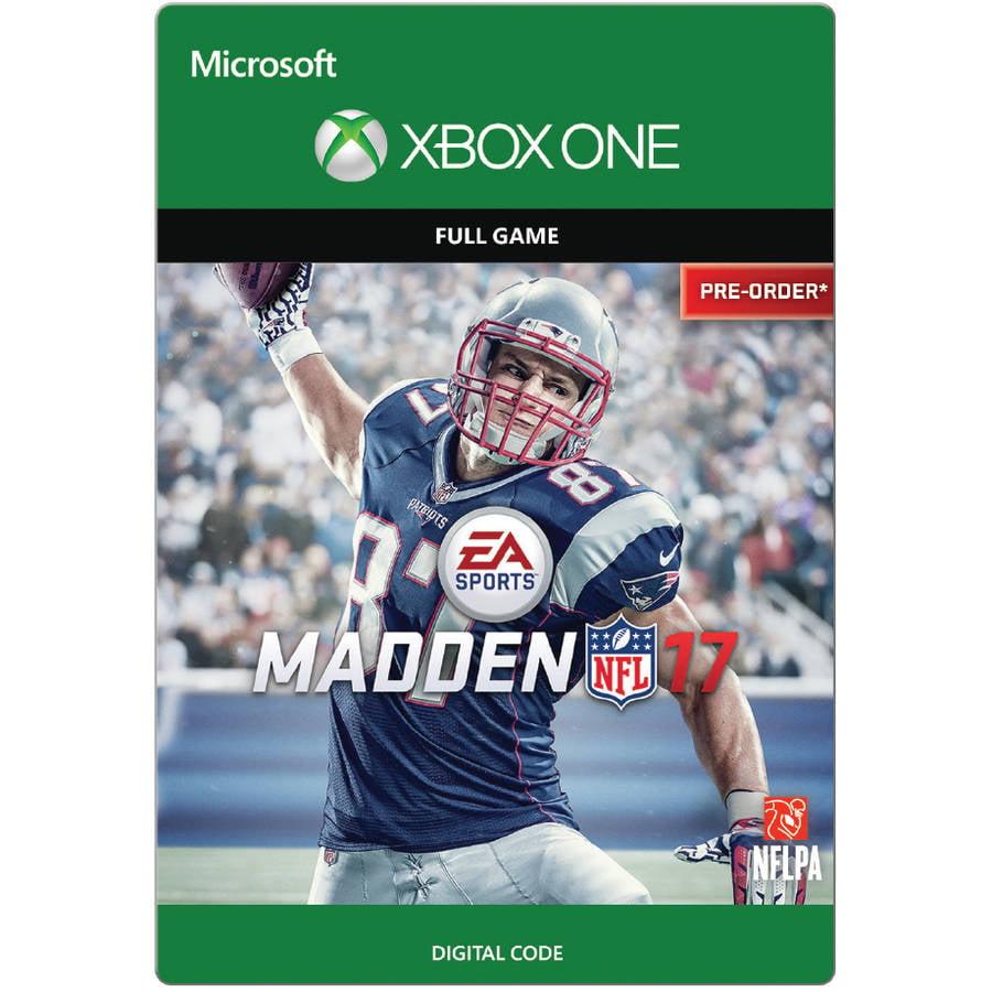 Xbox One Madden Nfl 17 Pre Order Full Ga