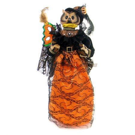 Gallerie Ii Halloween (Gallerie II COUNTESS OF ORANGE OWL Polyresin Mask Halloween)