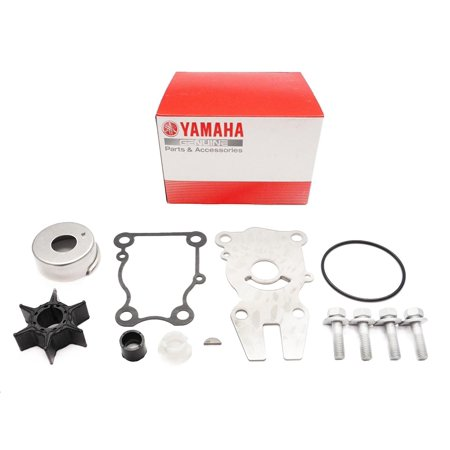 OEM Outboard Water Pump Repair Kit 63D-W0078-01-00, Water 43026K06 02 6CJW00780000 YAMAHA Genuine 63DW00780100 F25 0384465 61NW00781100 4050 Marine A4 115HP A5.., By Yamaha Ship from (Used 30 Hp Yamaha Outboard For Sale)