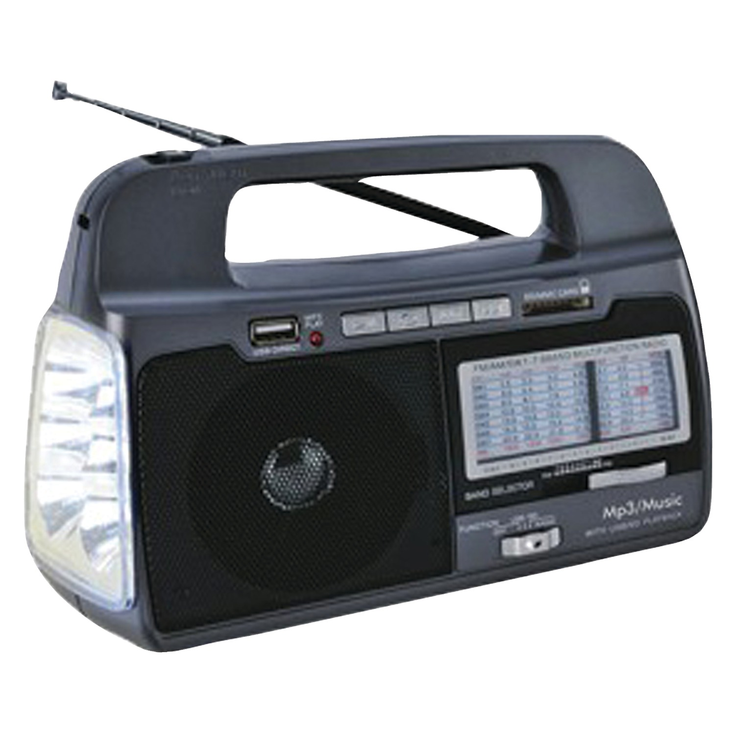 Supersonic SC-1082 9-Band AM/FM/SW1–7 Portable Radio