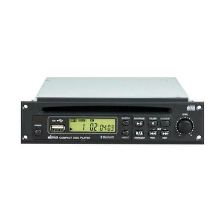 MIPRO 8CD0047 (CDM-2B) CD/USB/Bluetooth Player Module with Remote Control for MA-505, MA-705, MA-708, MA-808