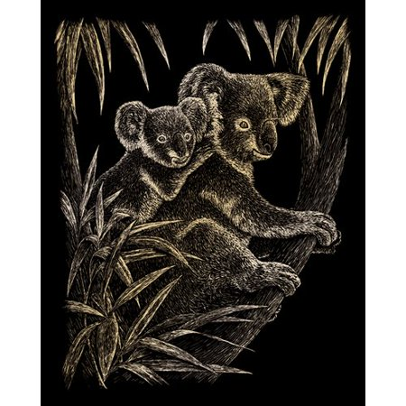 (Royal & Langnickel Koala Bears Art Engraving)