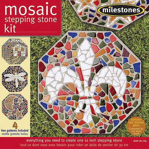 Milestones Mosaic Stepping-Stone Kit
