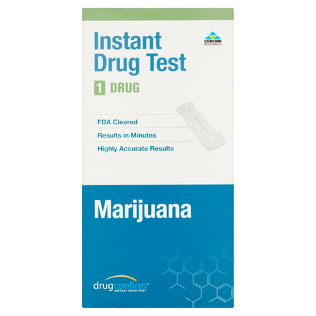 Confirm Biosciences DrugConfirm Marijuana Instant Drug Test 1 Drug