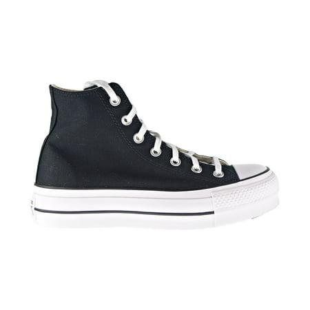 Black Converse High Tops Cheap (Converse Chuck Taylor All Star Platform High Top Women's Shoes Black/White)