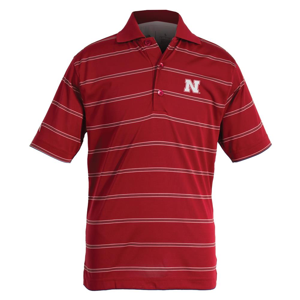 Nebraska Cornhuskers Youth Deluxe Polo