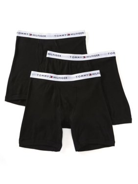 Men's Tommy Hilfiger 09TE001 Basic 100% Cotton Boxer Brief - 3 Pack