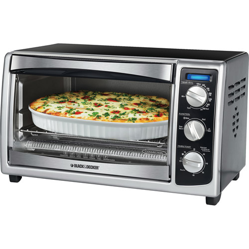 BLACK+DECKER Convection Toaster Oven, Toaster, TO1675B