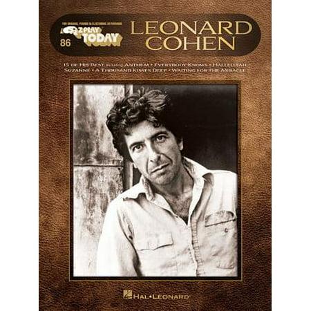 Leonard Cohen : E-Z Play Today #86