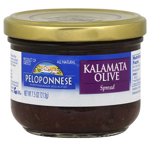 Peloponnese Olive Spread, 7.5 oz (Pack of 6)