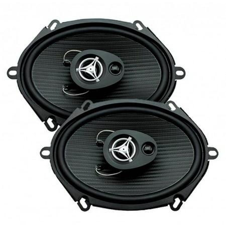 Power Acoustik EF-573 Edge Series Coaxial Speakers (5