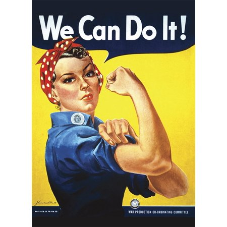 Rosie the Riveter We Can Do It! Notebook - Rosie Riveter Costume